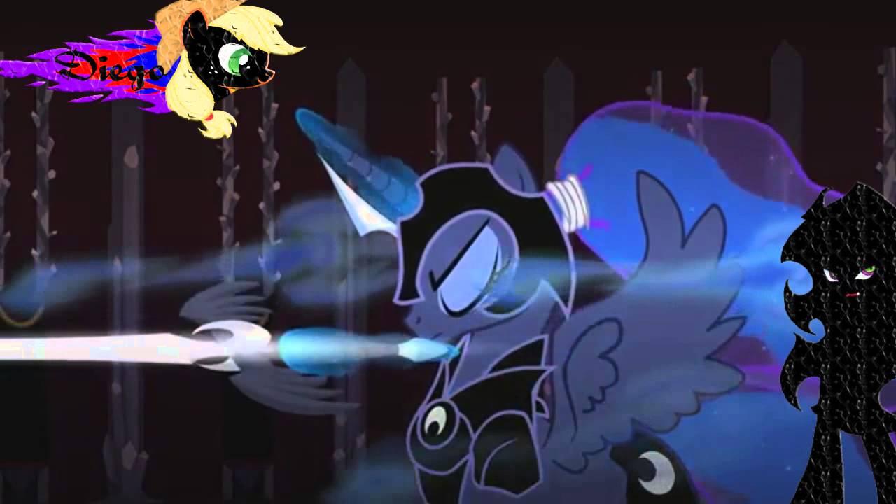 Celestia And Luna Vs Sombra Pmv Youtube