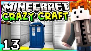 Minecraft: Crazy Craft 3.0 - Episode 13 - TIME TRAVEL!? (Tardis Mod)
