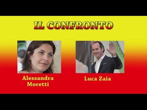 VENETO - Il confronto Alessandra Moretti contro Luca Zaia