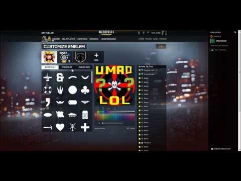 Battlefield 4 PC Multiplayer Emblems