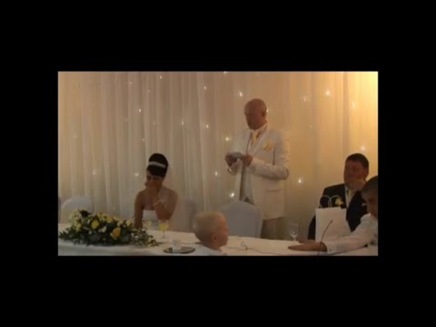 Singing Telegrams Scotland - Groom's Message to the bride in song