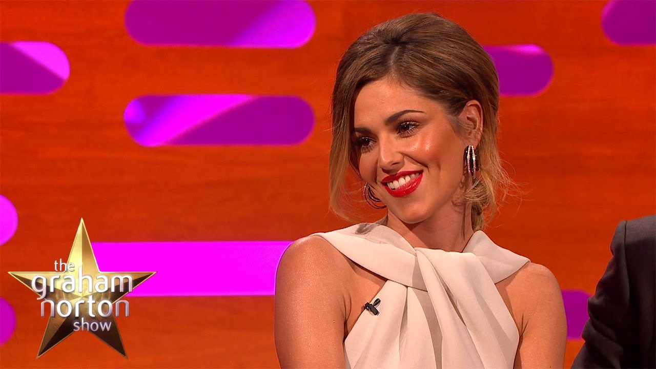 Cheryl cole shows off new bum tattoo the graham norton for Cheryl cole tattoo removal