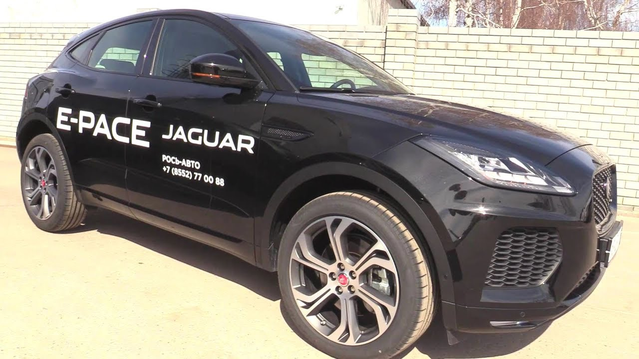 2019 Jaguar E-Pace First Edition. Start Up, Engine, and In Depth Tour.