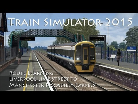 In this next route learning video, we take a Class 158 on a fast run from Liverpool Lime Street to Manchester Piccadilly, calling at Liverpool South Parkway, Widnes, Warrington Central, Manchester...