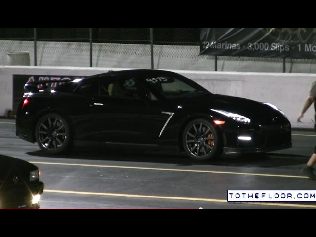 2015 E85 Nissan GT-R Drag Racing