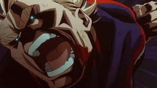 All Might vs All For One | Not Gonna Die「AMV」
