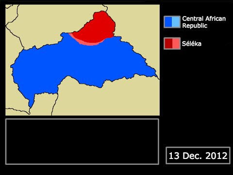 [Current Wars] The Central African Republic Conflict (Ongoing): Every Day