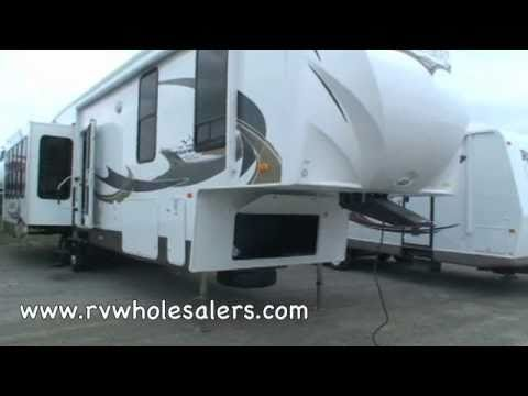 2011 Sandpiper 356RL Fifth Wheel Camper at RVWholesalers.com 025403 - Satin