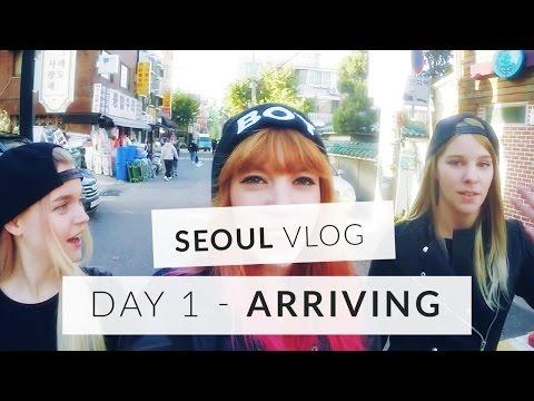 Seoul Vlog - Day 1