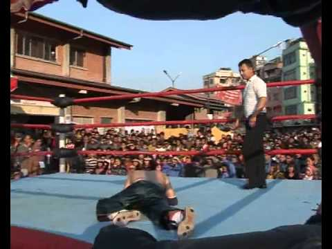 Wrestling Show Of Nepal Part 1 video