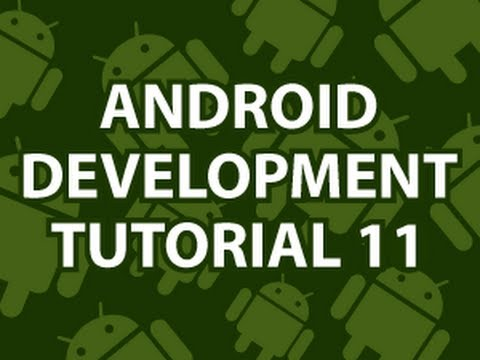 Android Development Tutorial 11