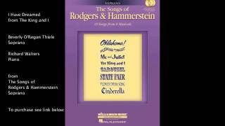 Watch Oscar Hammerstein I Have Dreamed video