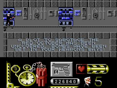 Levels from Hell, Hunt for Red October (NES), Sabotage Level