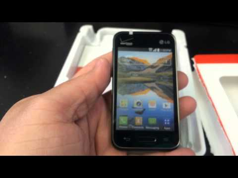 Lg optimus zone 2 vs415pp unboxing video in stock at www w