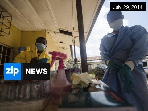 Two Americans Now Infected With Ebola - July 29, 2014