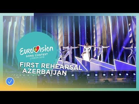 Aisel - X My Heart - First Rehearsal - Azerbaijan - Eurovision 2018
