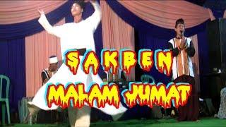 Sholawatan SABEN MALAM JUM'AT   Group Al-Muttaqin & Tari Sufi Show di Duyungan