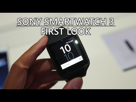 Sony Smartwatch 3 First Look