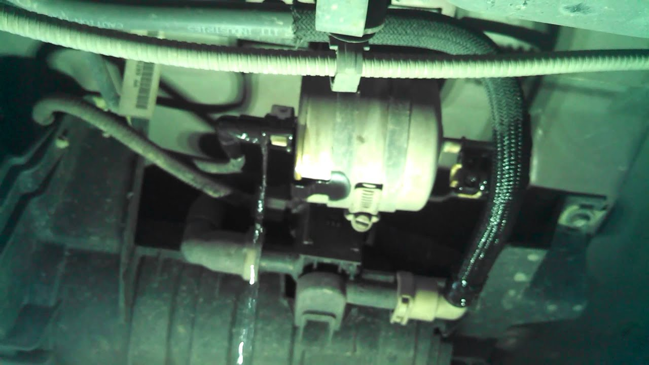 Fuel filter replacement 2005 2007 ford escape 4 cylinder or remove and replace youtube