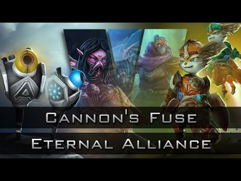 Dota 2 Chest Opening: Treasure of the Eternal Alliance and the Cannon's Fuse