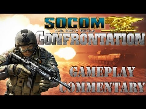 Socom Confrontation - Suppression - Desert Glory - Respawn Server [Gameplay}