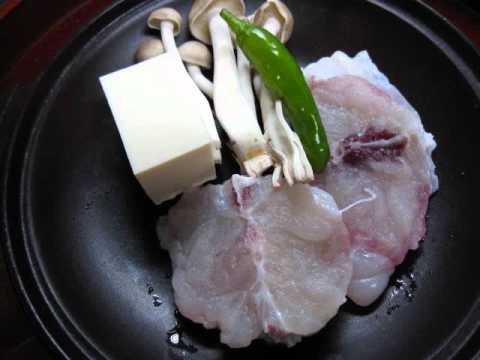 淡路島兵庫県南あわじ市民宿いづみ丸フグ料理.wmv