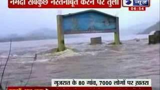 India News : Narmada crosses danger mark at Golden bridge