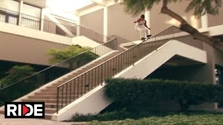 Olivier Lucero Grinds a 23 Stair Rail & More