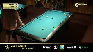 #7 - 2019 Andy Mercer 9-Ball Classic / Ramin BAKHTIARI vs Tres KANE