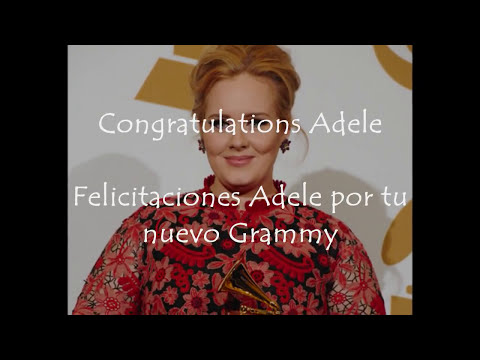Adele At The 55Th Annual Grammy Awards (Red Carpet & Grammy winner)