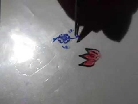 come creare degli adesivi per unghie a casa...