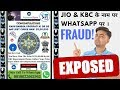 Rs 25LAKH FRAUD on WHATSAPP on the NAME of JIO, KBC, VIVO IPL FAKE LOTTERY EXPOSED!! in 2018 (HINDI)