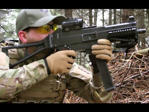 Airsoft War UMG. M4. SCAR. M1A1 Scotland HD