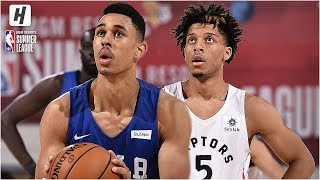 Philadelphia 76ers vs Toronto Raptors - Full Highlights | July 12, 2019 NBA Summer League
