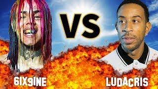 6IX9INE VS. LUDACRIS   VERSUS   Before They Were Famous