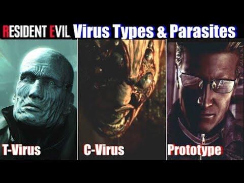 RE2 Most Dangerous Virus Types & Parasites - Resident Evil 2 Remake 2019