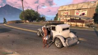 Grand Theft Auto V - A rape scene