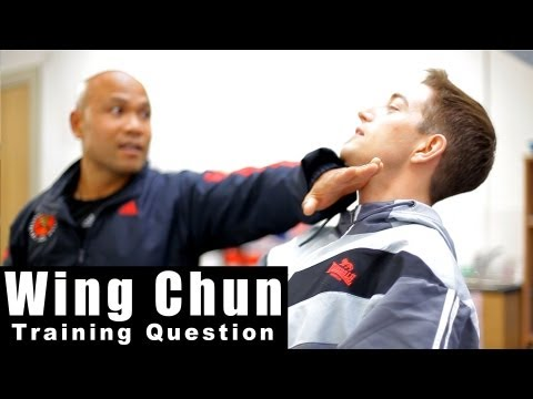 Wing Chun Techniques - is Wing chun hands maxed out? Q3 Image 1