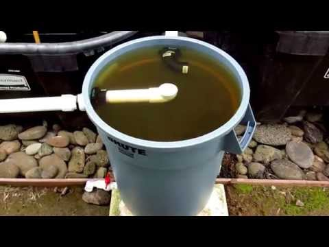 Swirl Filter for Aquaponics CHOP2 System - Maui. Hawaii