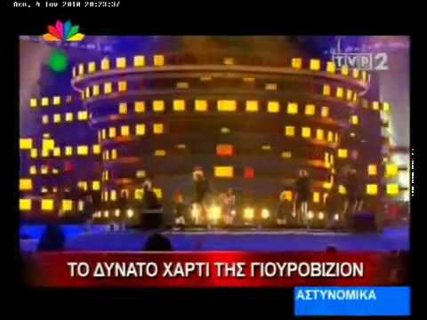 Katerine Avgoustakis on Star Channel News in Greece