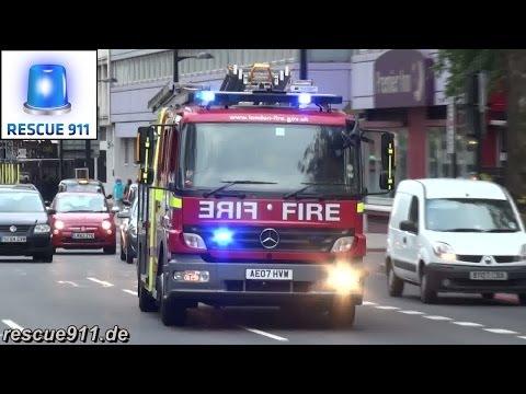 [London Fire Brigade] Pump Ladder LFB Clerkenwell
