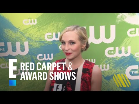 """Candice King & Paul Wesley's Hot """"TVD"""" Romance   E! Live from the Red Carpet"""