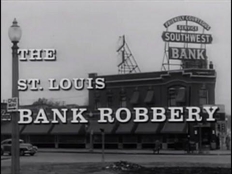 The St. Louis Bank Robbery (1959) Film Noir Crime