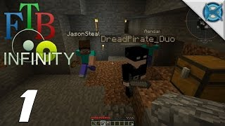 """Minecraft FTB Infinity Multiplayer Gameplay / Let's Play (S-1) -Ep. 1- """"Back to My Roots"""""""