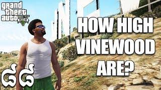 តើVinewoodខ្ពស់ប៉ុណ្ណា ? How high of Vinewood - GTA 5 MOD Ep88 Khmer|VPROGAME