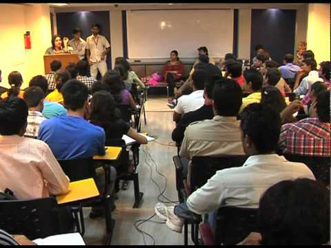 GUEST LECTURERS AT ISOMES: Aparna Kala , Sr Anchor - NEWS 24  - Part II