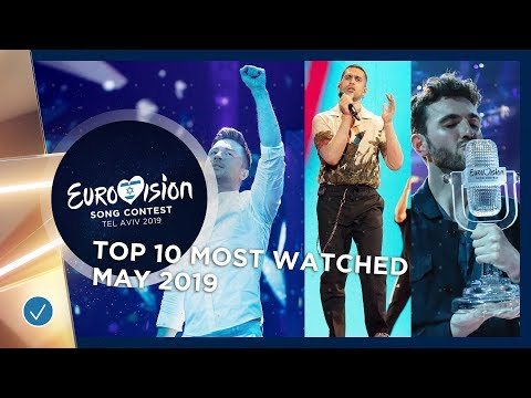 TOP 10: Most Watched In May 2019 - Eurovision Song Contest