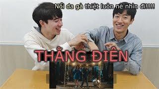 [reaction] Người Hàn nổi da gà với Thằng điên – JustaTee x Phương Ly