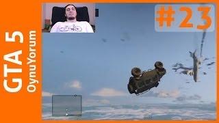 GTA 5 OynuYorum - 23. Bölüm: Jip ile Uçaktan Serbest Düşüş