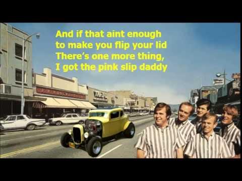 Little Deuce Coupe Beach Boys with Lyrics